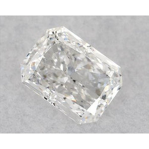 2 Carats Radiant Diamond Loose H Si1 Good Cut Diamond