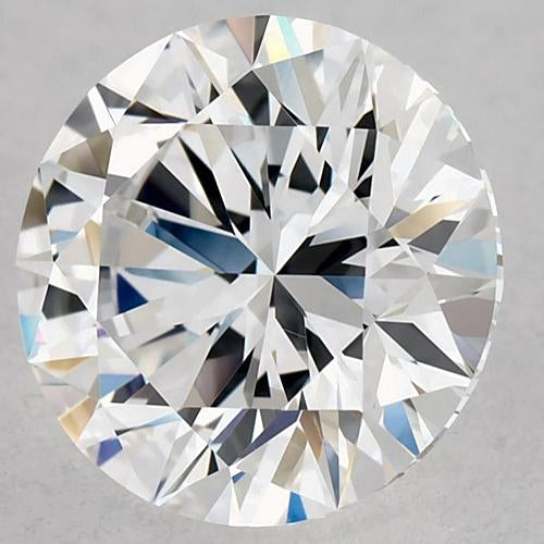 2 Carats Round Diamond D Vs2 Excellent Cut Loose Diamond