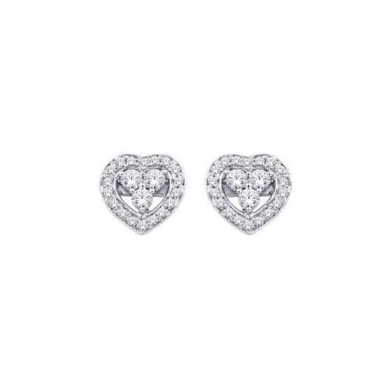 2 Ct Round Brilliant Cut Diamond Women Stud Halo Earring Halo Stud Earrings