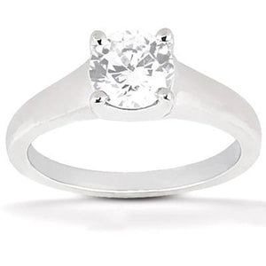 2.01 Carat Diamond Engagment Solitaire Ring Gold Jewelry New Solitaire Ring