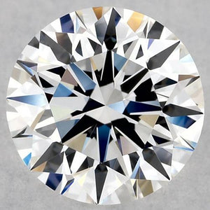2.01 Carat Loose Round Diamond F Vs1 Sparkling Diamond