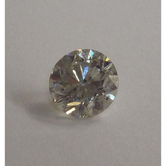 2.01 Carats J Si1 Loose Diamond Round Cut New Diamond Diamond