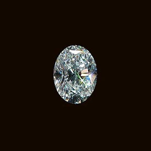 2.01 Carats Oval Cut Loose Diamond E Vvs1 Diamond New Diamond