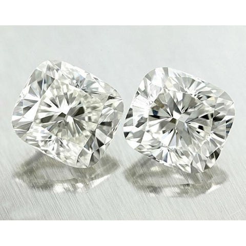 2.02 Carat E Vvs1 Cushion Pair Loose Diamond Sparkling Diamond