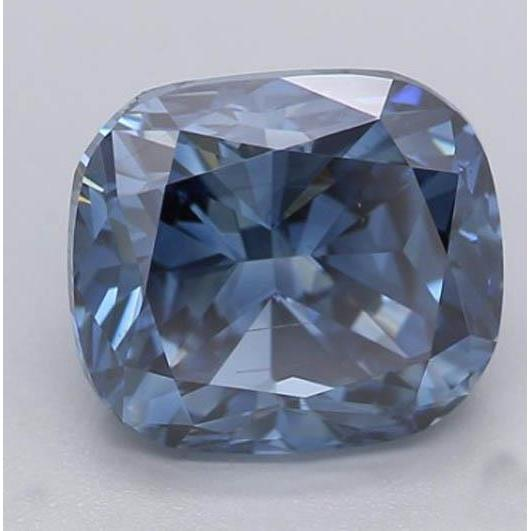 2.2 Ct Intense Blue Cushion Cut Loose Diamond Diamond