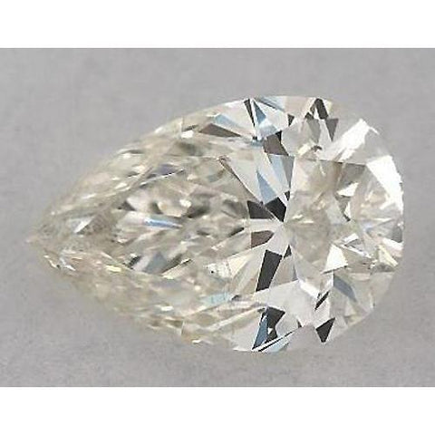 2.25 Carats Pear Diamond Loose H Vs1 Very Good Cut Diamond