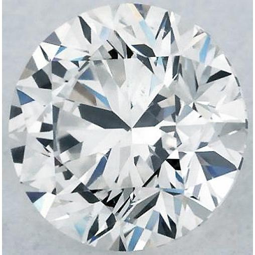 2.25 Carats Round Diamond H Vs1 Excellent Cut Loose Diamond