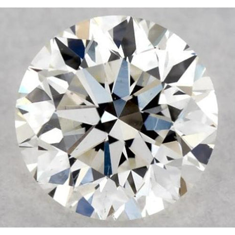 2.25 Carats Round Diamond J Vs1 Excellent Cut Loose Diamond