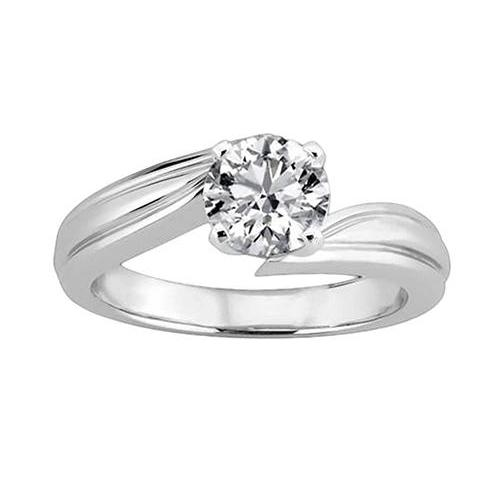2.5 Carat Diamond Solitaire Anniversary Ring 4 Prongs Solitaire Ring