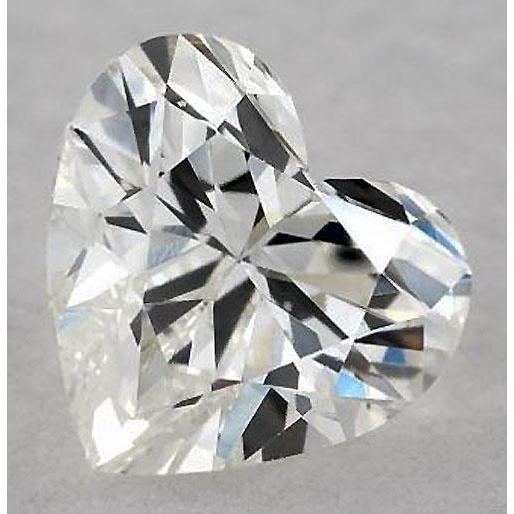 2.5 Carats Heart Diamond Loose G Vs2 Very Good Cut Diamond