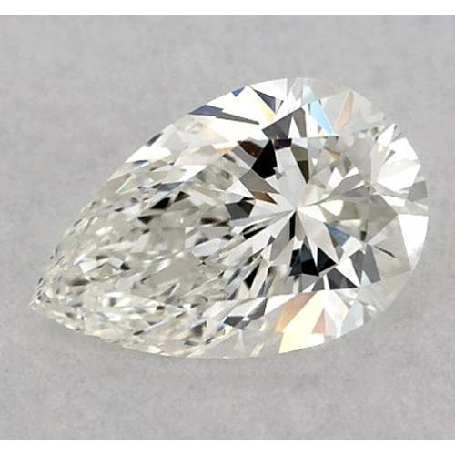 2.5 Carats Pear Diamond Loose E Vs2 Very Good Cut Diamond