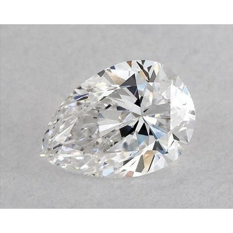 2.5 Carats Pear Diamond Loose F Vs1 Very Good Cut Diamond