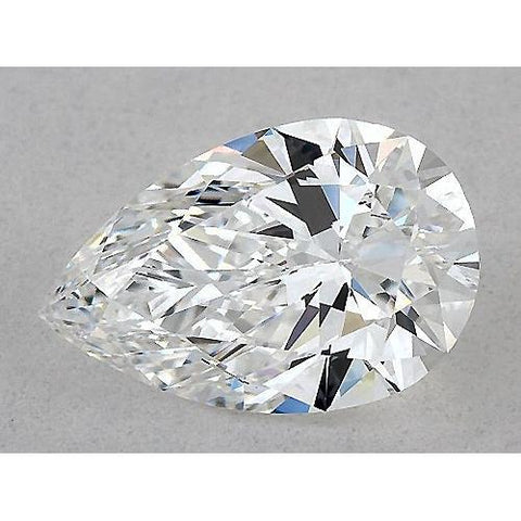 2.5 Carats Pear Diamond Loose G Vs1 Very Good Cut Diamond