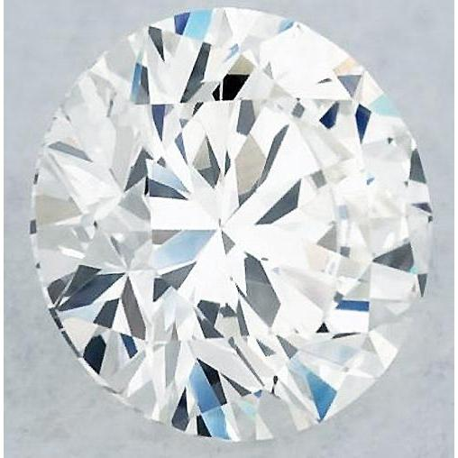 2.5 Carats Round Diamond D Vs1 Excellent Cut Loose Diamond