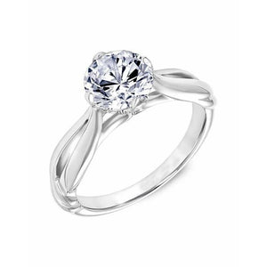 2.5 Ct Solitaire Round Brilliant Cut Diamond Wedding Ring Solitaire Ring