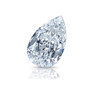 2.50 Carat Sparkling Pear Cut G Si1 Natural Loose Diamond New Diamond