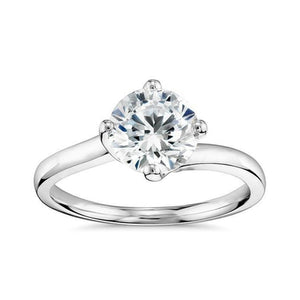 2.50 Ct Gorgeous Round Cut Solitaire Diamond Wedding Ring Solitaire Ring