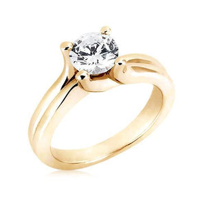 2.51 Carat Sparkling Diamond Ring Solitaire Ring Solitaire Ring