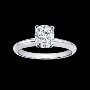 2.51 Ct. Cushion Diamond Solitaire Ring Jewelry Gold Solitaire Ring