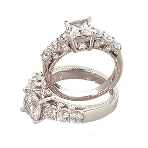 2.51 Ct. Diamond Engagement Ring White Gold Brilliant Engagement Ring