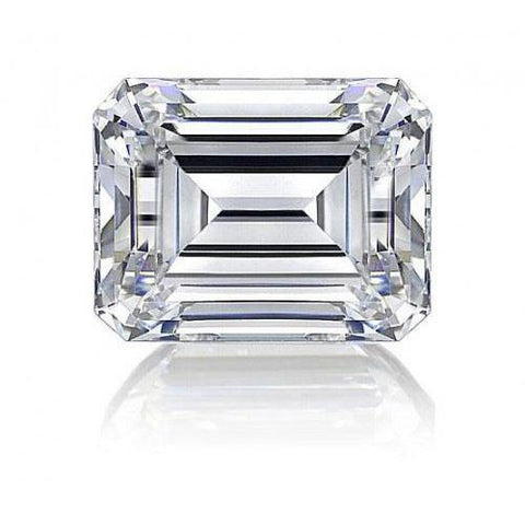 2.75 Carat Sparkling G Si1 Emerald Cut Loose Diamond New Diamond