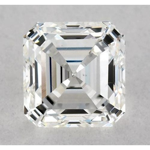 2.75 Carats Asscher Diamond Loose J Vs1 Very Good Cut Diamond