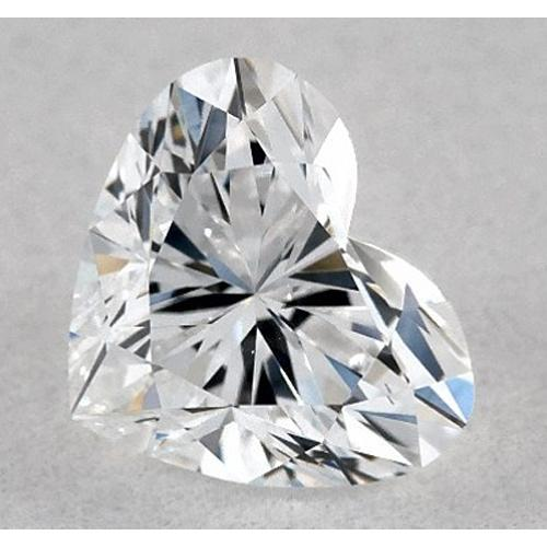 2.75 Carats Heart Diamond Loose E Vs2 Very Good Cut Diamond