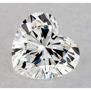 2.75 Carats Heart Diamond Loose F Vvs1 Very Good Cut Diamond