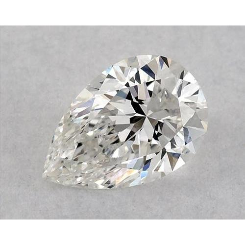 2.75 Carats Pear Diamond Loose D Vvs2 Very Good Cut Diamond