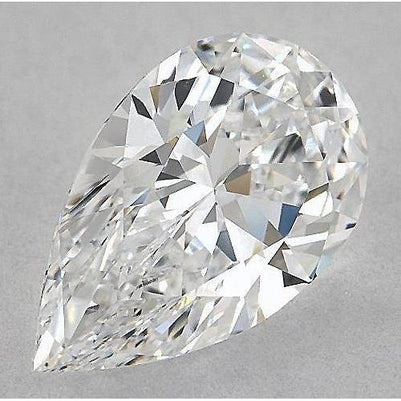 2.75 Carats Pear Diamond Loose E Vs1 Very Good Cut Diamond