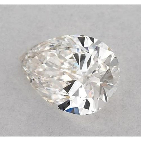 2.75 Carats Pear Diamond Loose F Vs1 Very Good Cut Diamond