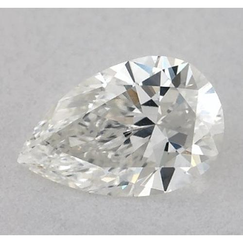2.75 Carats Pear Diamond Loose H Vvs1 Very Good Cut Diamond