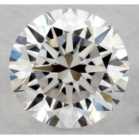 2.75 Carats Round Diamond K Vs2 Excellent Cut Loose Diamond