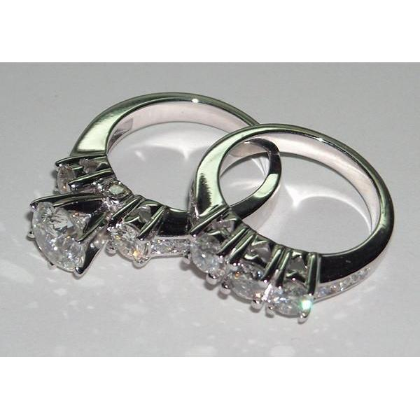 2.75 Ct. Diamonds Engagement Ring Set Engagement Ring Set
