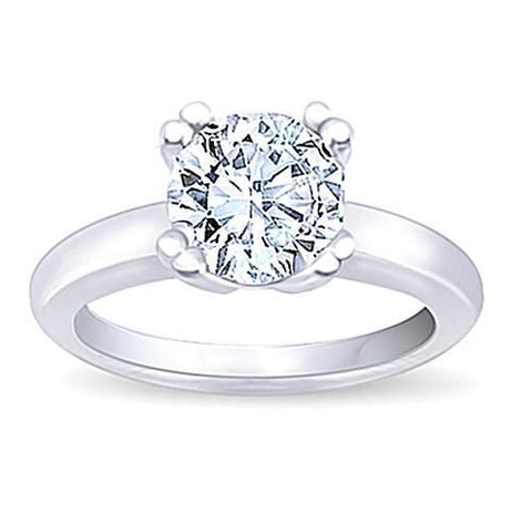 3 Carat Vs Diamond Ring 8 Prong Solitaire Engagement Ring Gold F Vs2 Solitaire Ring