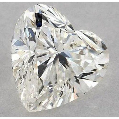 3 Carats Heart Diamond Loose F Si1 Good Cut Diamond