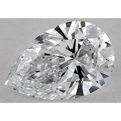 3 Carats Pear Diamond Loose D Vs1 Very Good Cut Diamond