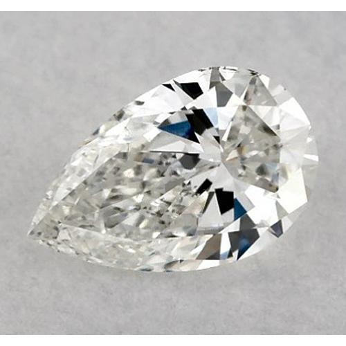 3 Carats Pear Diamond Loose F Si1 Good Cut Diamond