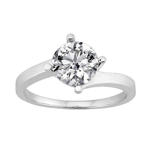 3 Ct. Diamond Engagement Ring Solitaire Diamond Jewelry Solitaire Ring