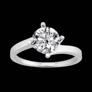3 Ct. Diamond Wedding Ring Solitaire Diamond Jewelry Solitaire Ring
