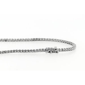 30 Carats Extra Long Diamonds Tennis Necklace Strand Jewelry 32 Inches Necklace