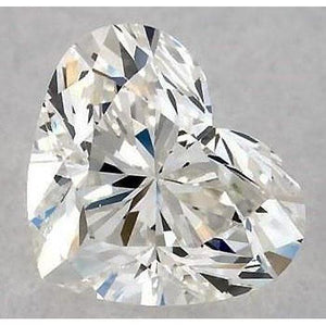 3.25 Carats Heart Diamond Loose F Vs1 Very Good Cut Diamond