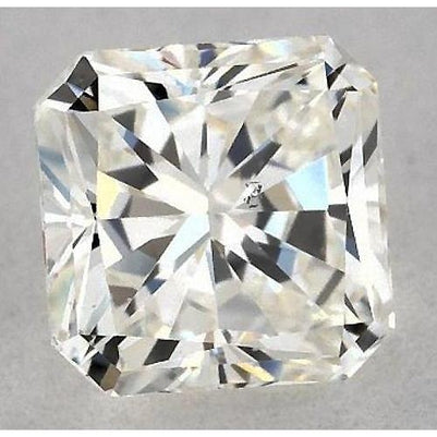 3.25 Carats Radiant Diamond Loose G Si1 Good Cut Diamond
