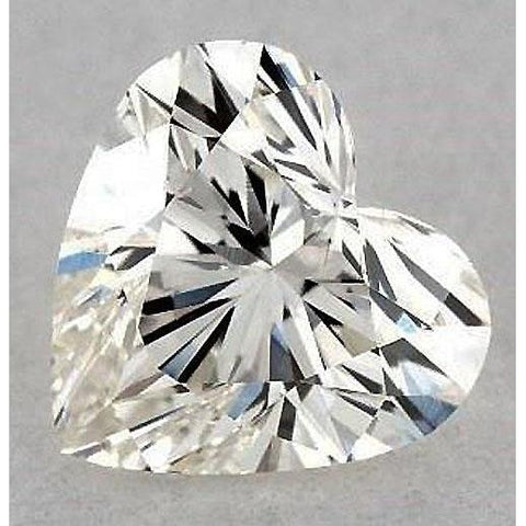 3.5 Carats Heart Diamond Loose H Vvs1 Very Good Cut Diamond