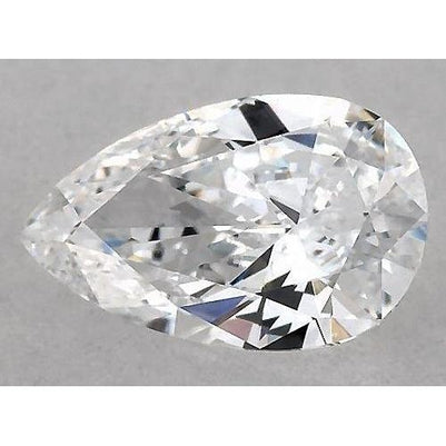 3.5 Carats Pear Diamond Loose J Vs2 Very Good Cut Diamond