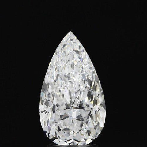 3.50 Carat G Si1 Sparkling Pear Cut Loose Diamond New Diamond