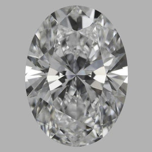 3.75 Carat G Si Oval Cut Sparkling Loose Diamond New Diamond