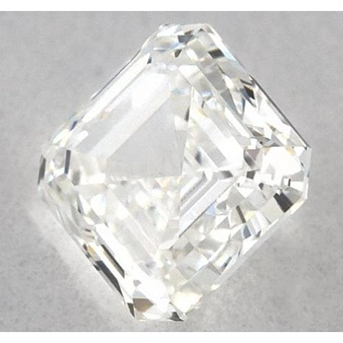 3.75 Carats Asscher Diamond Loose J Vvs2 Very Good Cut Diamond