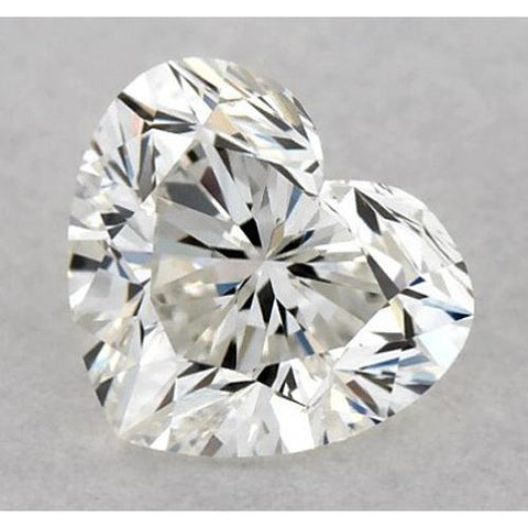 3.75 Carats Heart Diamond Loose G Vvs1 Very Good Cut Diamond
