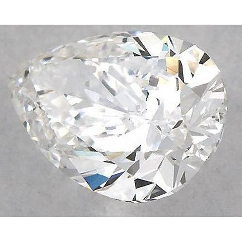 3.75 Carats Pear Diamond Loose D Vs1 Very Good Cut Diamond